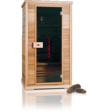 Nobel infrarood saunacabine 110  NOBEL110