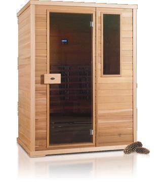 Nobel infrarood saunacabine 150  NOBEL150